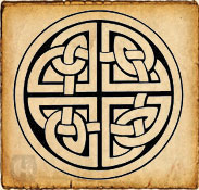 Nudo perenne celta - símbolo del amor eterno
