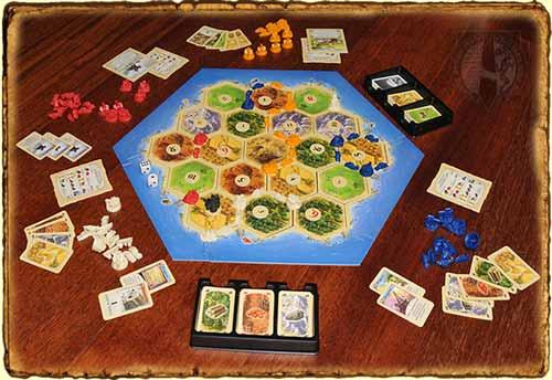 Como jugar a los colonos de catan tierra quebrada - Catan juego de mesa ...